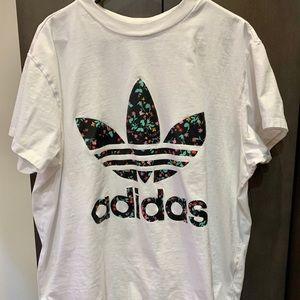 Adidas Floral 🌺 Shirt